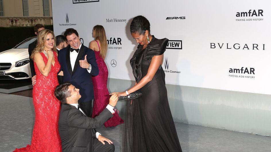 Denny Mendez riceve la proposta di matrimonio sul red carpet di Cannes. Guarda le foto!