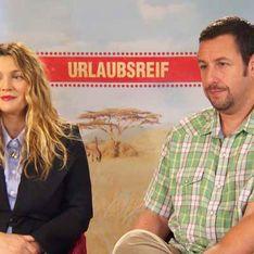 Drew Barrymore & Adam Sandler über das beste Gefühl der Welt