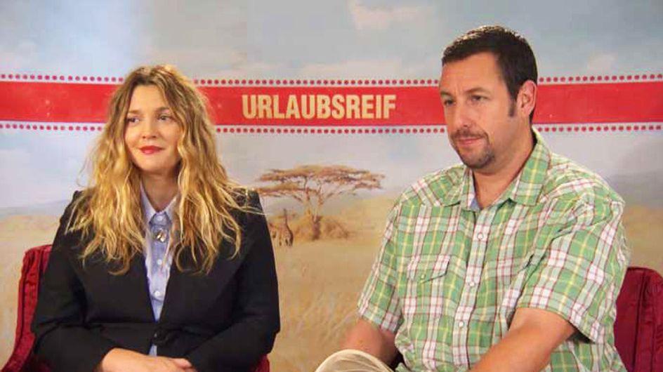 """Drew Barrymore & Adam Sandler über """"das beste Gefühl der Welt"""""""