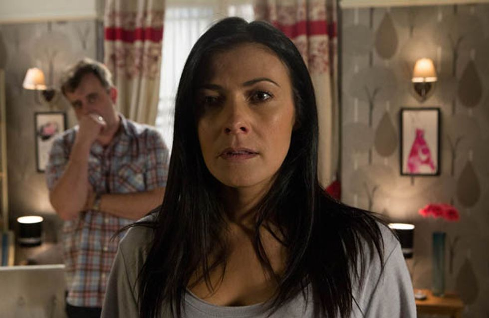 Coronation Street 06/06 – Tracy lets slip to Michelle that Steve was at the police station