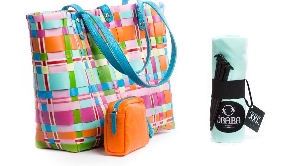 Sac Ôbaba x Pixl, des accessoires d'été aux couleurs de la joie.