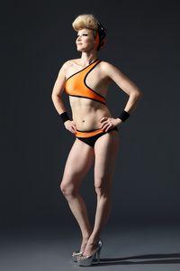 Elina, Breast Cancer Survivor, Monokini