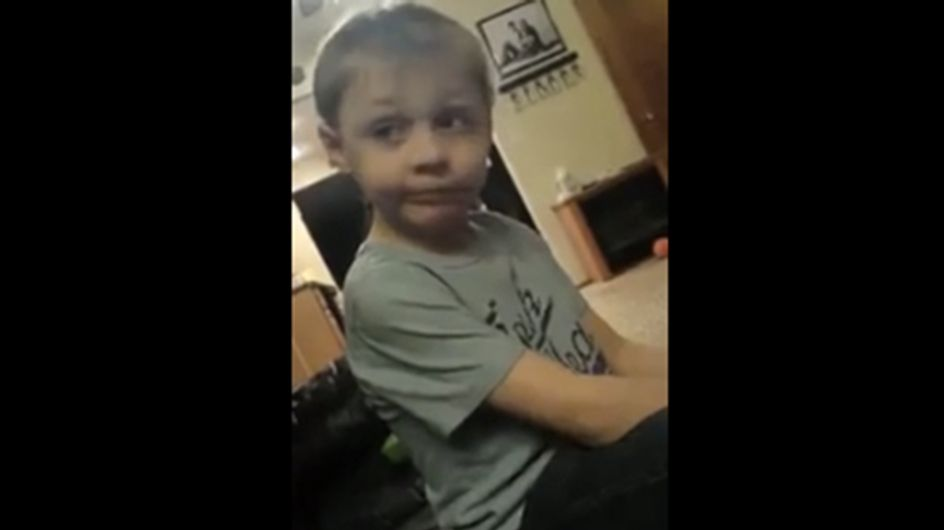 Stressed Out 5-Year-Old Can't Handle His 3 Girlfriends