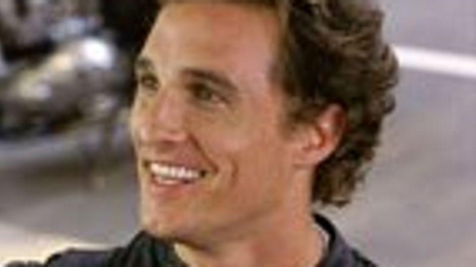 Matthew McConaughey ya es padre