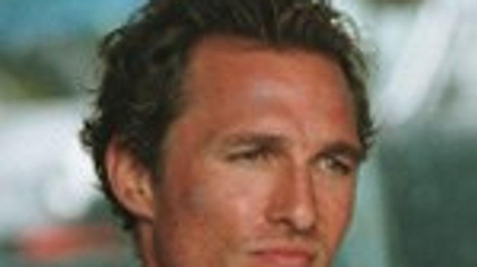 Matthew McConaughey: le han regalado desodorante para todo un año