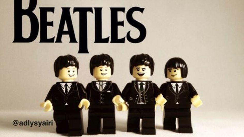 On adore : des groupes de musique légendaires reproduits en figurines LEGO® !