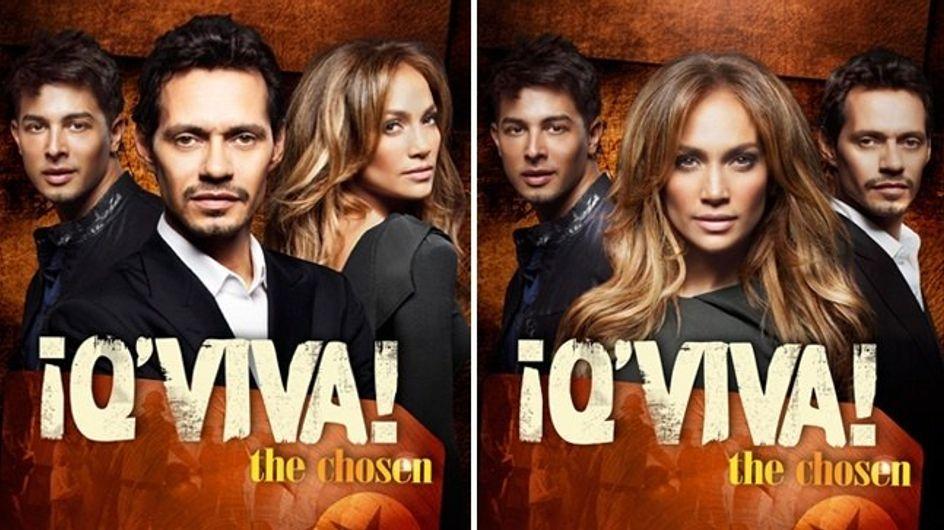 "Jennifer Lopez y Marc Anthony al descubierto en ""¡Q' Viva The Chosen!"""