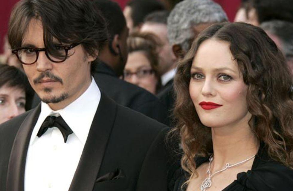 Johnny Depp y Vanessa Paradis. La otra mujer