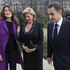 Carla Bruni reaparece junto a Sarkozy tras haber sido mamá