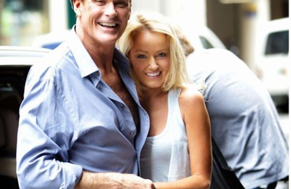 David Hasselhoff propone matrimonio a su pareja