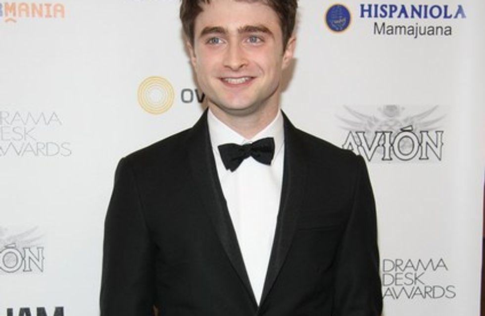 Daniel Radcliffe confiesa que rodó Harry Potter borracho
