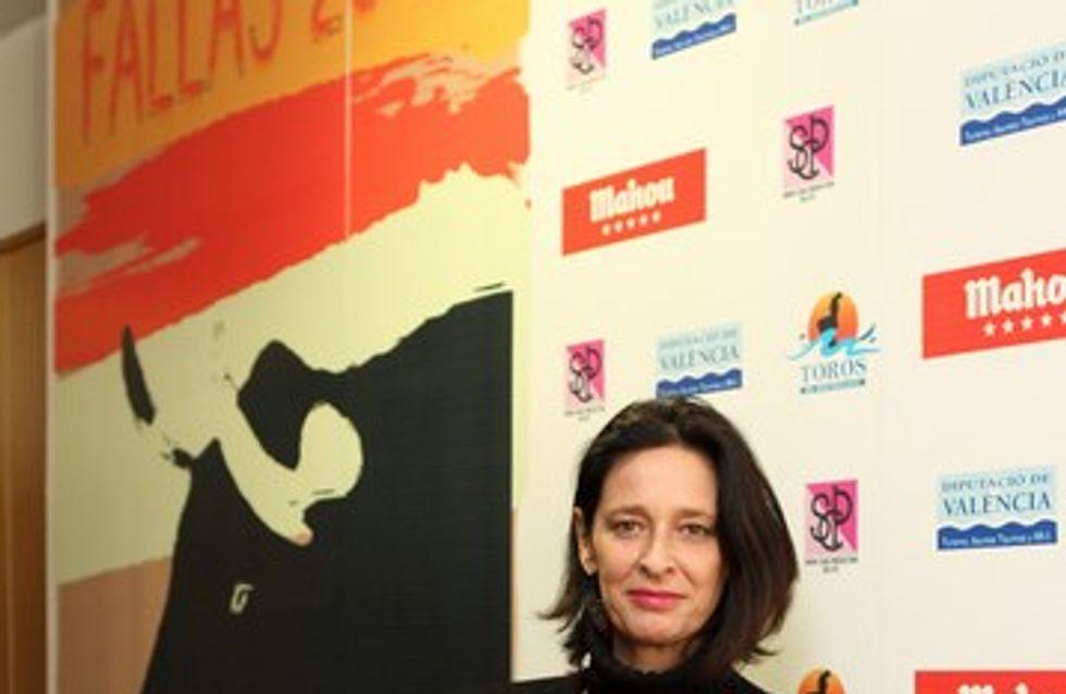 Paola Dominguín diseña el cartel taurino de Fallas 2012