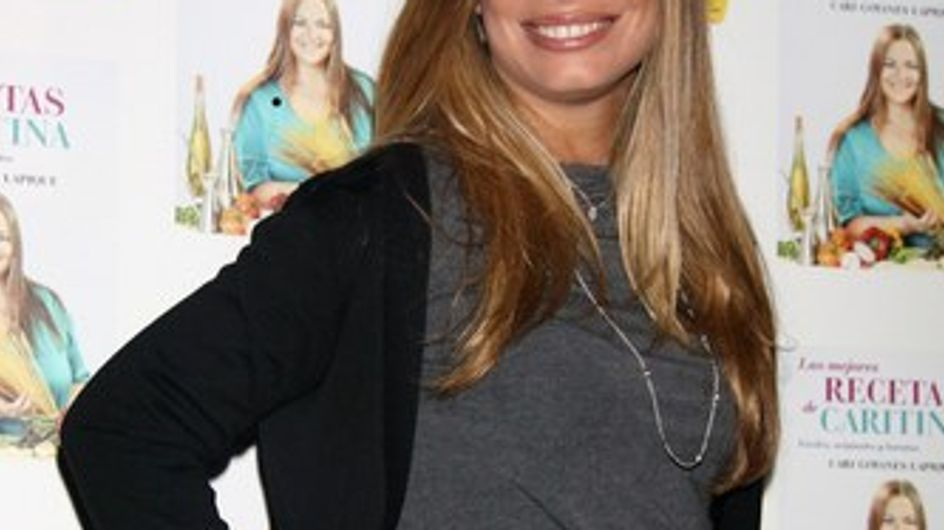 Carla Goyanes presume de embarazo