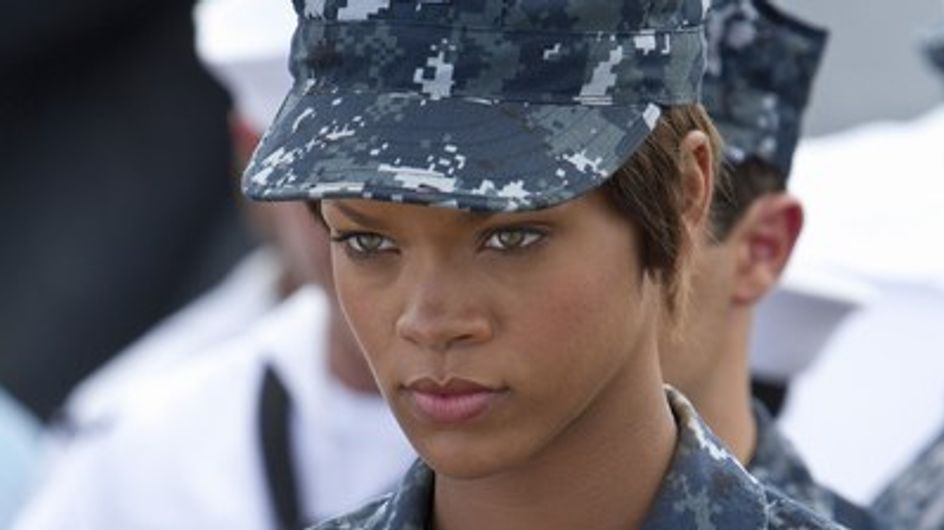 "Rihanna lanza su carrera cinematográfica con ""Battleship"""
