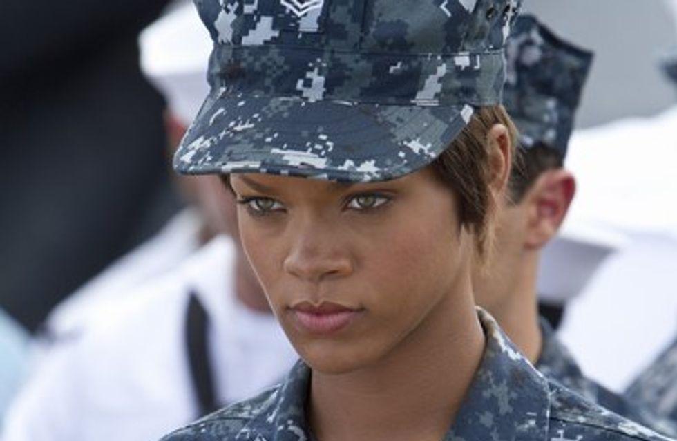 Rihanna lanza su carrera cinematográfica con Battleship