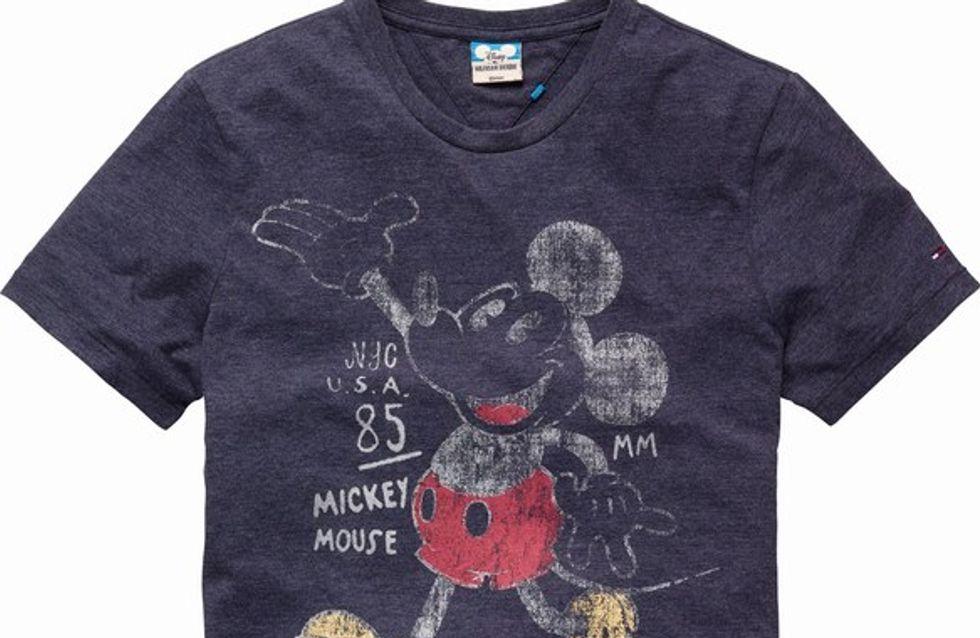 Tommy Hilfiger lanza una colección de camisetas Disney