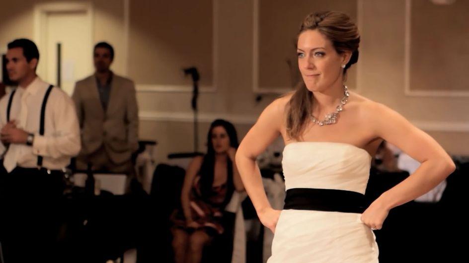 Con su padre en la memoria: un baile de boda realmente emotivo