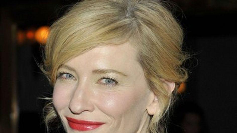 Cate Blanchett tiene pánico al botox