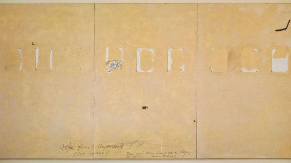 La Galería Elvira González expone la obra de Antoni Tàpies