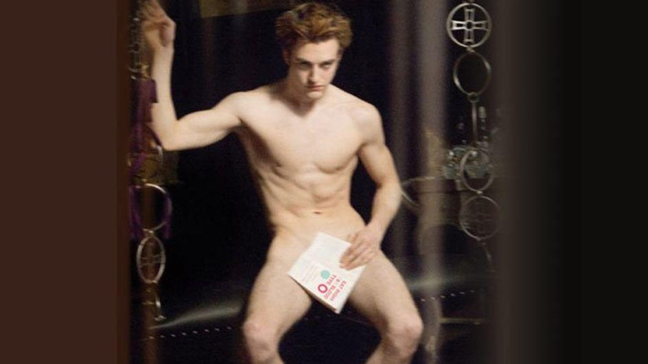 Robert Pattinson, los príncipes Guillermo y Enrique y Johnny Depp se desnudan