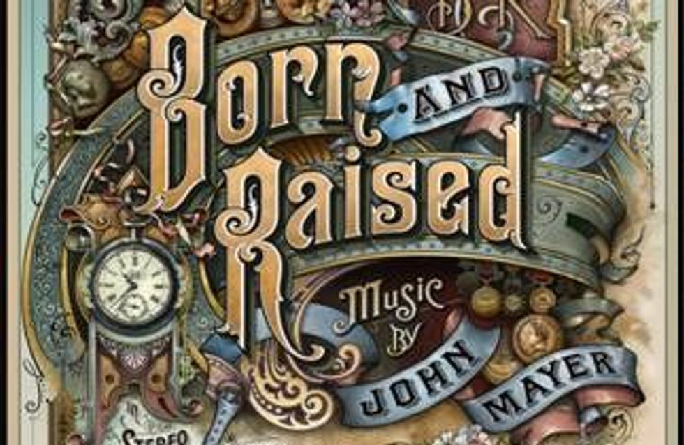 """John Mayer publica el 22 de mayo """"Born and Raised"""""""