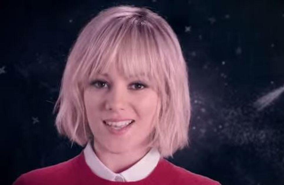Alizée : Blonde rétro pour Cacharel (Vidéos)