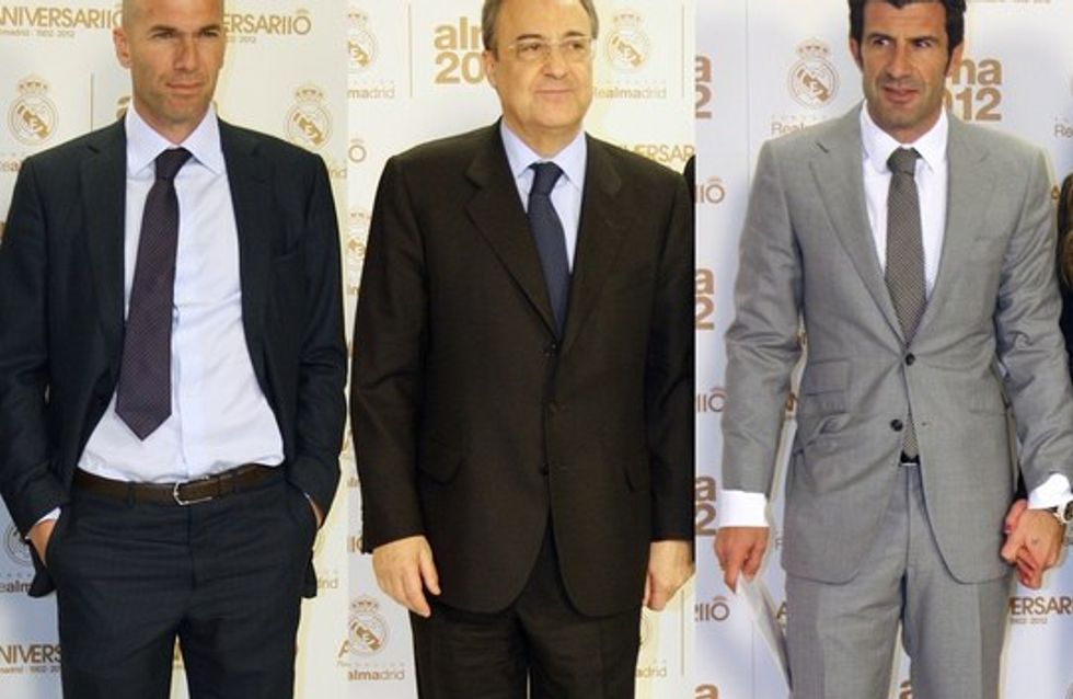 Los madridistas se reúnen para los premios Alma 2012