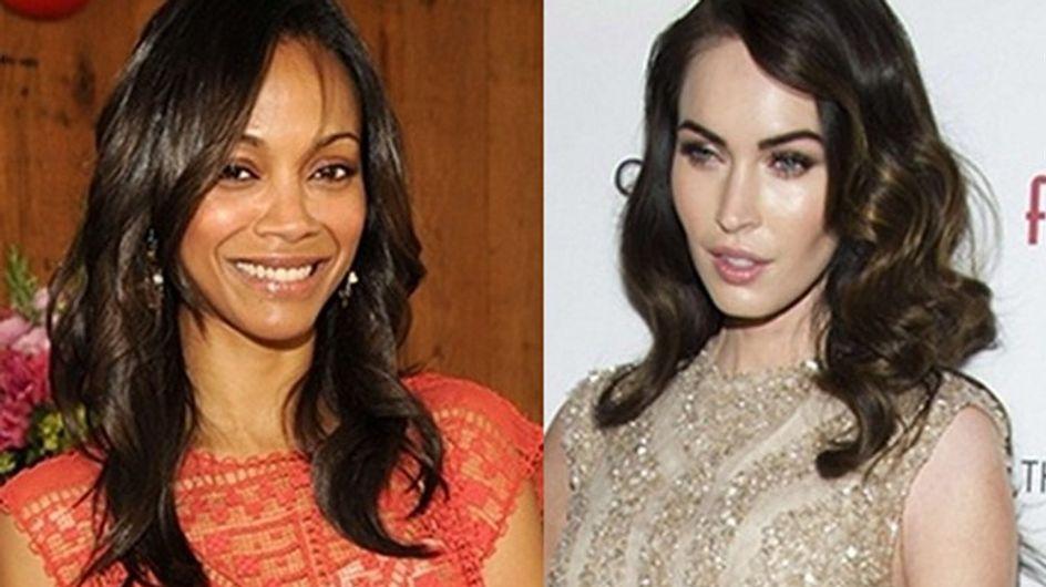 """Megan Fox y Zoe Saldana, dos bellezas en """"Swindle"""""""