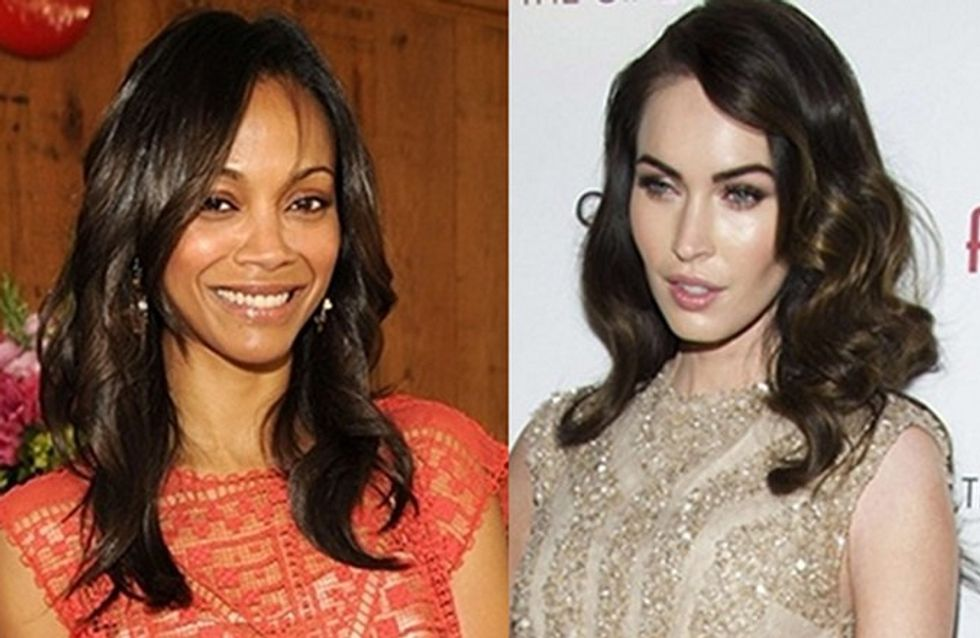 "Megan Fox y Zoe Saldana, dos bellezas en ""Swindle"""