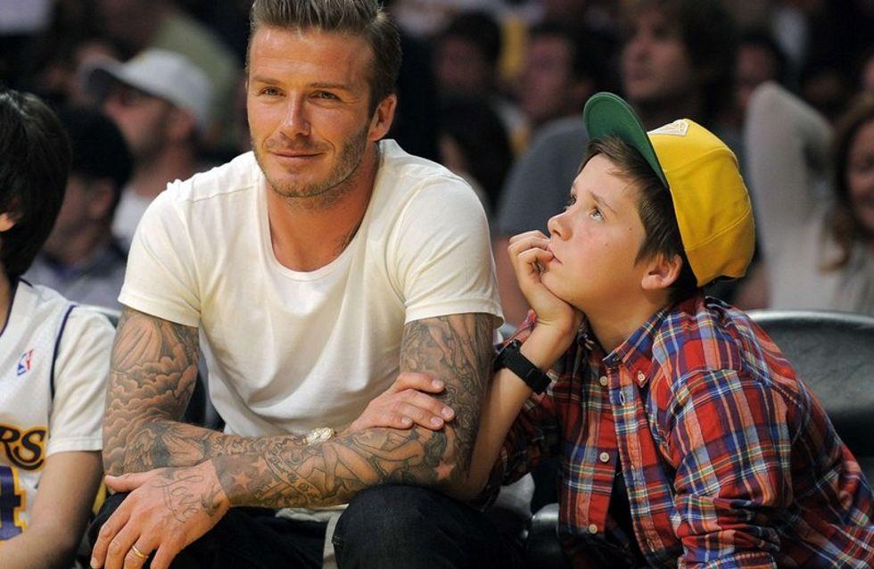 David Beckham, Brad Pitt y Tom Cruise, los papás con más estilo