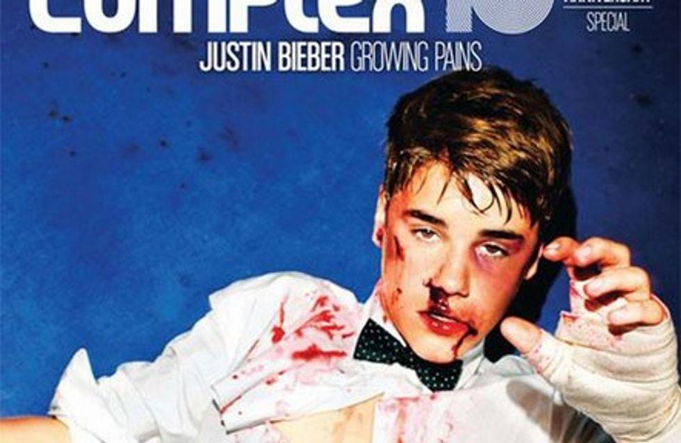 Justin Bieber recibe una paliza