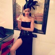 Rihanna se disfraza de geisha sexy