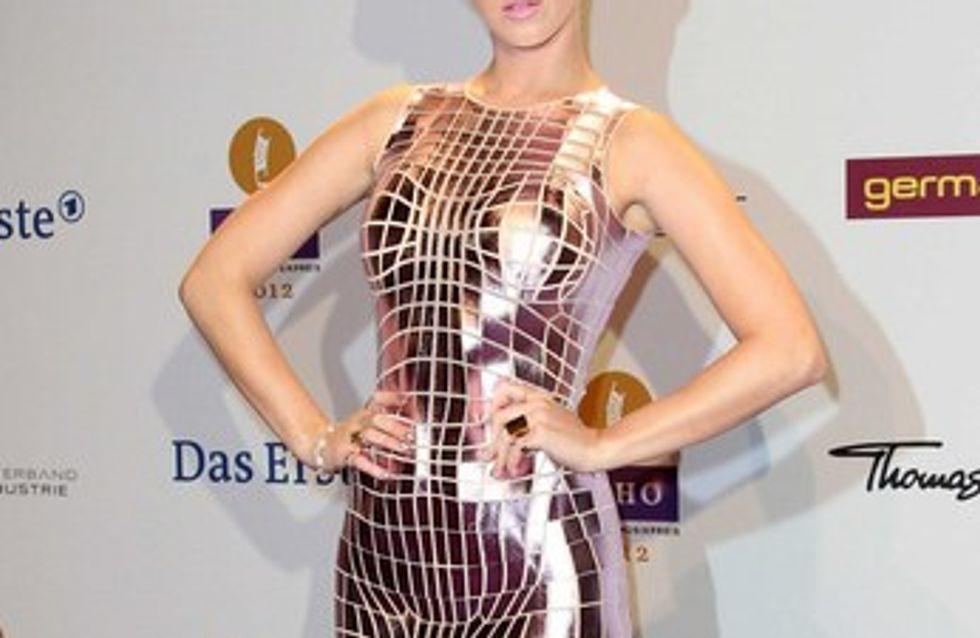 El estilo futurista de Katy Perry triunfa en Berlín