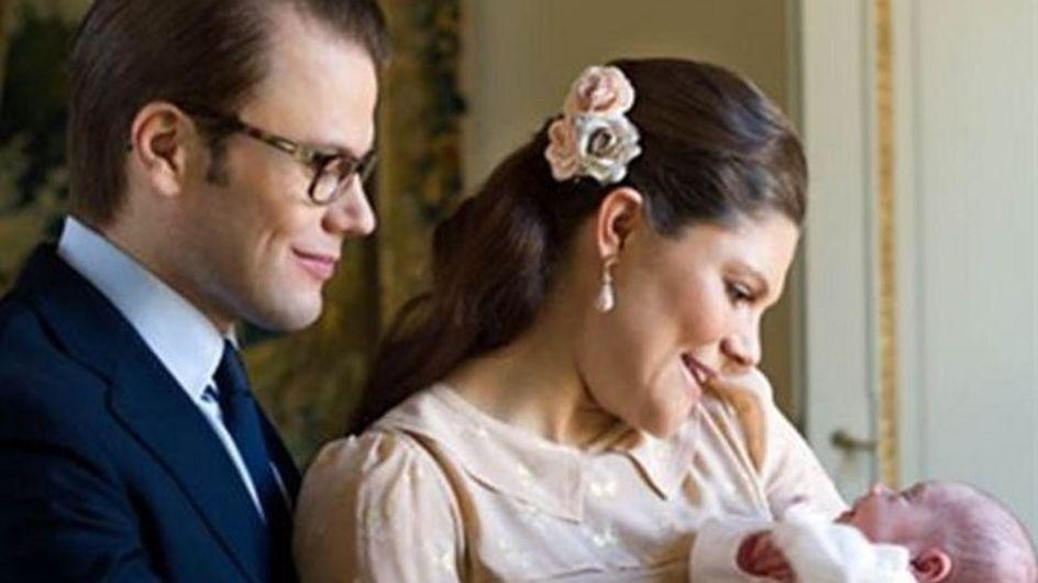 Primera imagen de Victoria de Suecia con su hija Estela