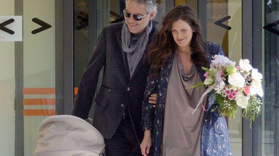 Andrea Bocelli ha sido padre por tercera vez