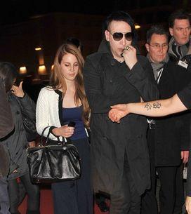 Marilyn Manson y Lana del rey podrían estar juntos