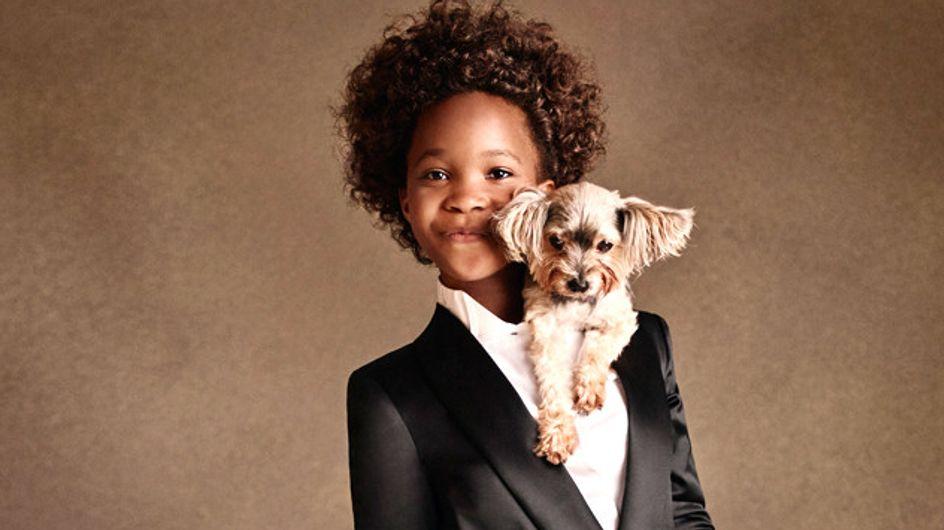 A 10 ans, Quvenzhané Wallis devient le nouveau visage d'Armani Junior