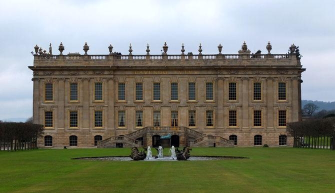 Chatsworth House, antigo lar da Duquesa de Devonshire
