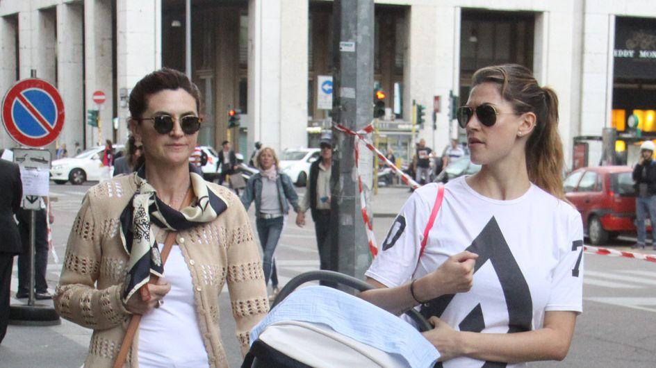 Melissa Satta: shopping con il piccolo Maddox. Le prime foto pubbliche della neo mamma!