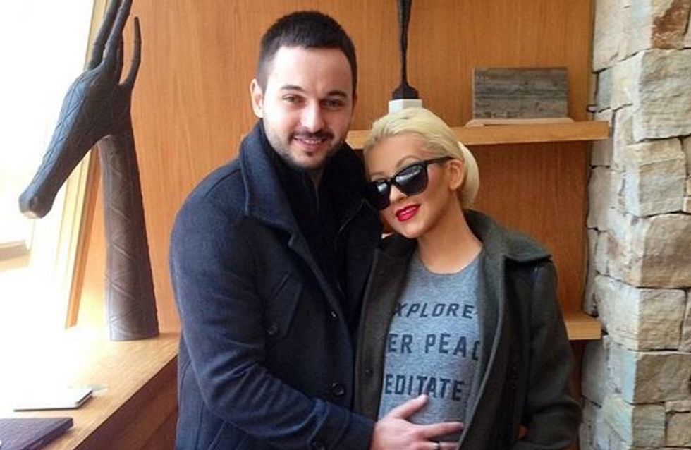 Christina Aguilera enceinte : Elle veut garder la ligne