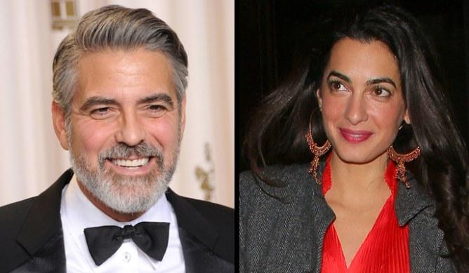 George Clooney - Amal Alamuddin