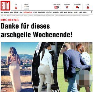 La publication du Bild montrant les fesses de Kate Middleton