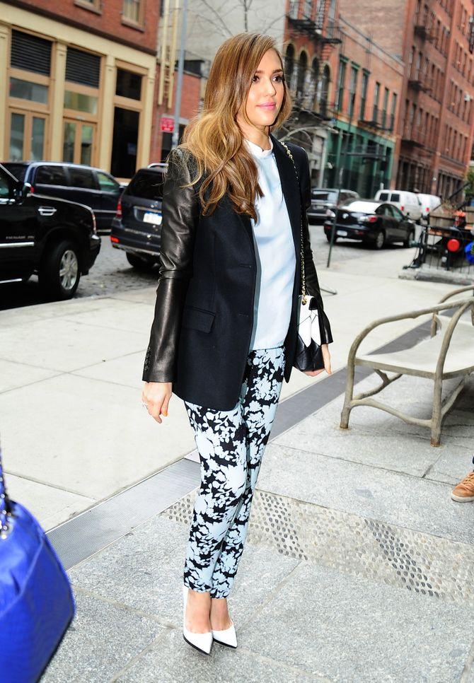 Jessica Alba à New York