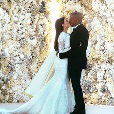 ¡Al fin! Primeras fotos de Kim Kardashian vestida de novia