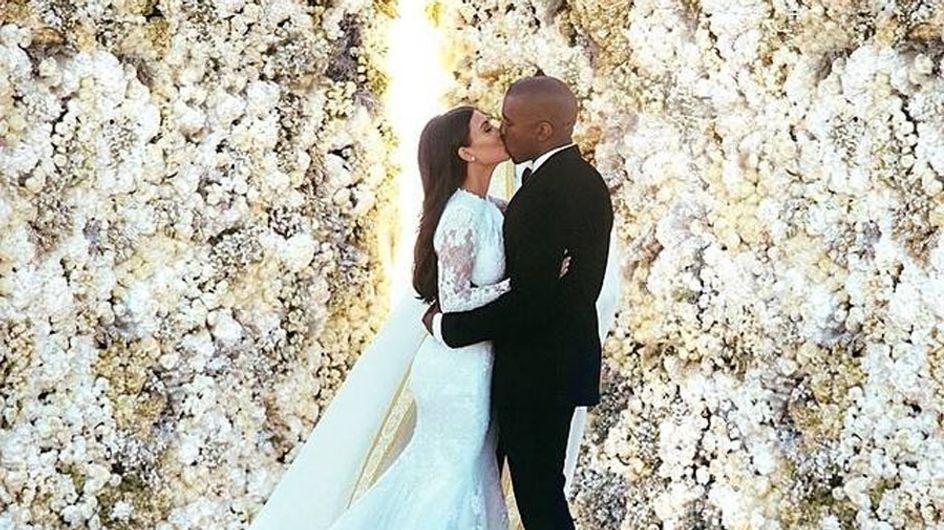Kim Kardashian e Kanye West: le prime foto delle nozze