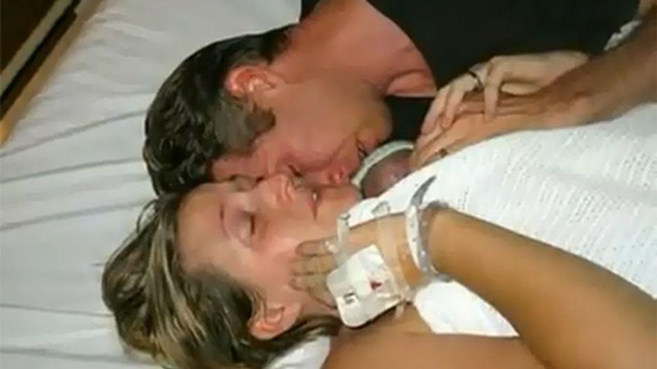 El abrazo de una madre devuelve la vida a su bebé