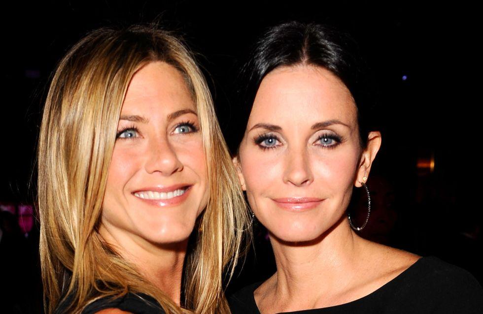 Jennifer Aniston : En froid avec Courteney Cox ?