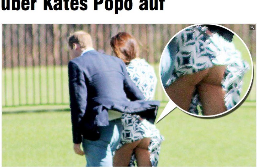 Kate Middleton: scatti rubati del suo lato B. Guarda le foto!