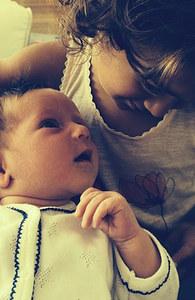 Die beiden jüngsten Willis-Töchter
