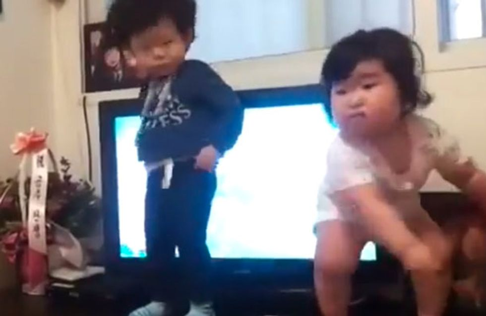 Watch: Adorable Korean Toddler Brings About Amazing New Dance Trend